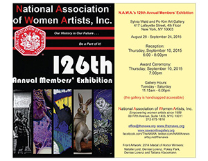126th Annual Members' Exhibtion 2015