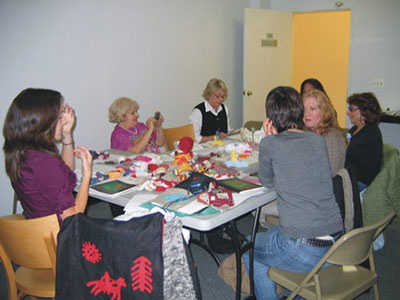 Doll workshop with Irene Nedelay