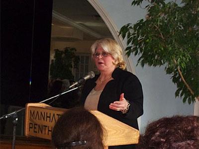 Presentation by Rhoda Sherbell Honoree 2012