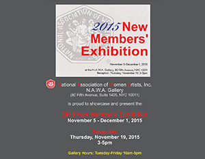 New Members' Exhibition 2015