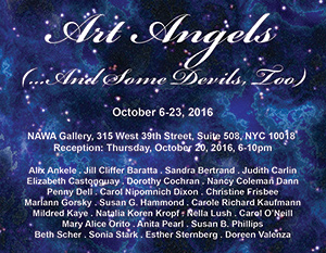 Art Angels Invitation